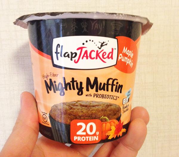 フラップジャック(flapjacked ) プロテイン カップケーキマフィンのメープルパンプキン味を食べた感想