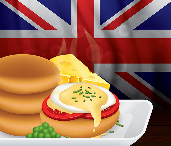 海外のボディービルダーにも人気の朝食イングリッシュマフィンのたんぱく質や栄養価はどのくらい?