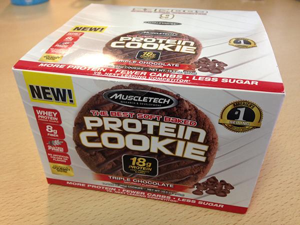 マッスルテック プロテインクッキー(Muscletech Protein Cookie)