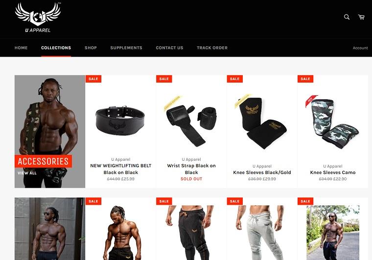 ユリシスジュニアのフィットネスアパレル・グッツのブランド