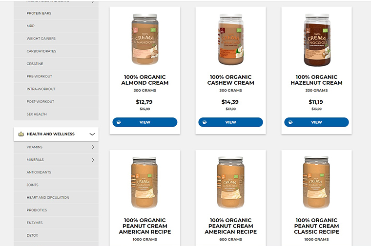 Yamamoto Nutritionのサプリメントや健康食品