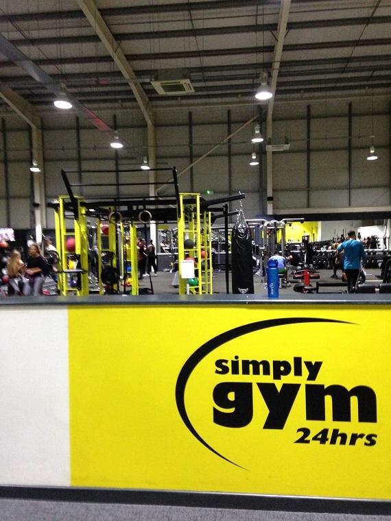 simpy gym