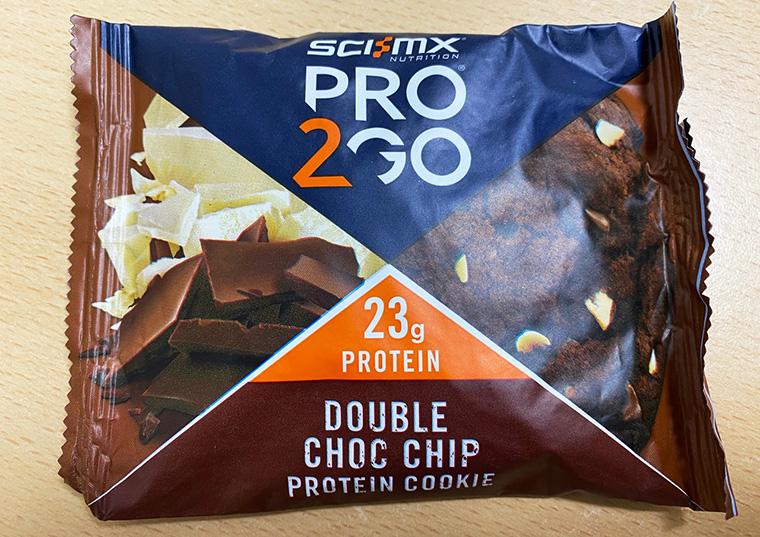 Sci-Mx PRO 2GO ダブルチョコレートチップクッキーの味や食感や風味はどう?