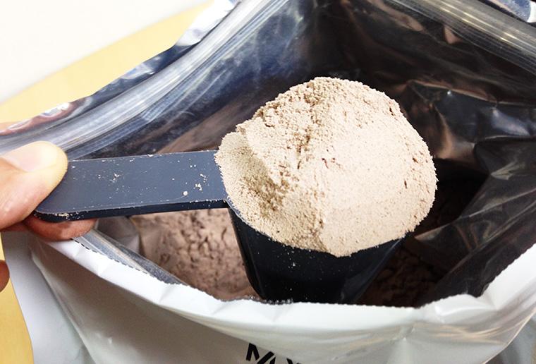 マイプロテイン ナチュラルチョコレート味